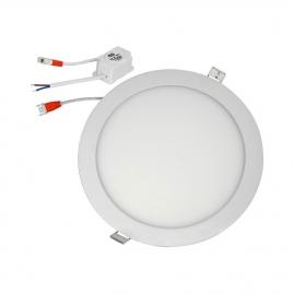 Светильник светодиодныйSmartbuy встраиваемый круг 24Вт 6500K IP20 SBL-DL-24-65K