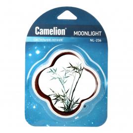 Ночник Camelion NL-236 светодиодный с выключателем рисунок 220В 13811