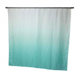Штора для ванной комнаты Swensa 180х180см Gradient голубой, полиэстер SWC-70-31