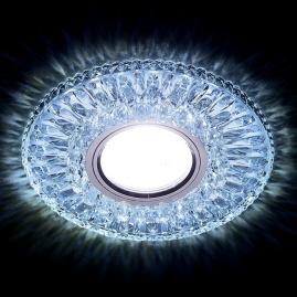 Светильник точечный Ambrella light S380 CL-CLD хром, прозрачный MR16+3W LED COLD