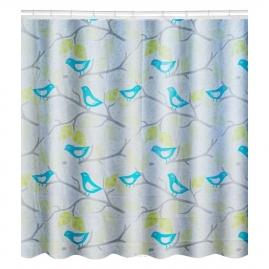 Штора для ванной комнаты Swensa 180х180см Bluebirds, PEVA SWC-50-05