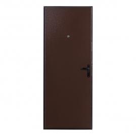 Дверь металлическая Меги 064 металл/металл 2050x960мм правая