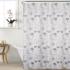 Штора для ванной комнаты Swensa Ode 180х200см белый-сиреневый, полиэстер SWC-90-67