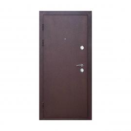 Дверь металлическая Толстяк венге 2050x960мм левая