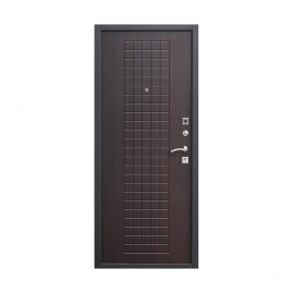 Дверь металлическая Гарда 8мм муар венге 2050x960мм правая