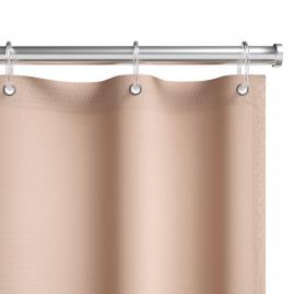 Штора для ванной комнаты Fora Элит бежевая FOR-PH102