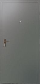 Дверь металлическая VALBERG Б1 ДТМ металл/металл титан 2050x850мм левая