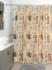 Шторка для ванной Milardo British Signs 870P180M11