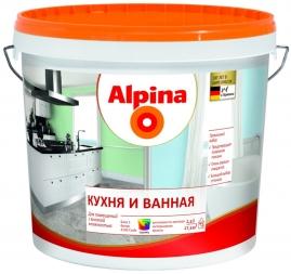Краска акриловая Аlpinа Кухня и Ванная База 1, 2,5л