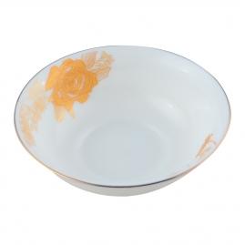 Салатник d23см, золотая роза GOP01-04