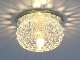 Точечный светильник 176 G9 прозрачный
