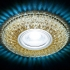 Светильник точечный Ambrella light S333 CF-CLD хром кофе MR16+3W LED COLD
