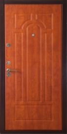 Дверь металлическая 363К 1004 итальянский орех-870 правая