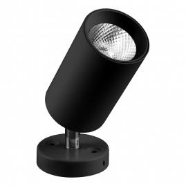 Светильник светодиодный Feron накладной AL519 10Вт 800Lm, 4000K, 35 градусов черный, наклонный 29874