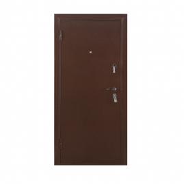 Дверь металлическая Прима дуб крем 2066x880мм левая