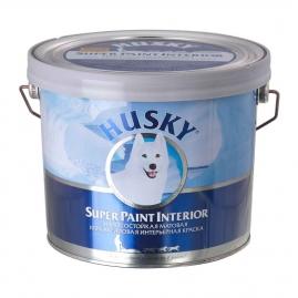 Краска HUSKY Super Paint интерьерная, износостойкая, акриловая, матовая 2,5л