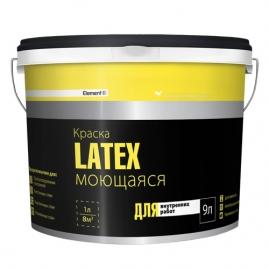 Краска латексная Element SE Latex моющаяся для внутренних работ 9л 14,22кг