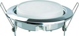 Светильник встраиваемый металлический Camelion серебро FM1-GX53-S