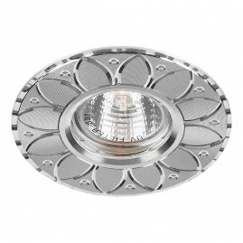 Светильник точечный Feron GS-M389S MR16 50W G5,3 серебро 28950