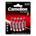Батарейка Camelion LR03 Plus Alkaline BL-8 LR03-BP8,1,5В блистер 8шт 14134