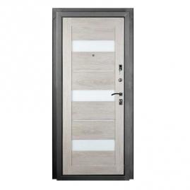 Дверь металлическая Гранд дуб седой 2066x880мм правая