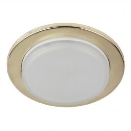 Светильник точечный Эра KL70 GD под лампу Gx53 тонкий 13Вт золото