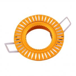 Точечный светильник Эра KL31 AL/GD алюминиевый MR16, 12V, 50W золото/серебро