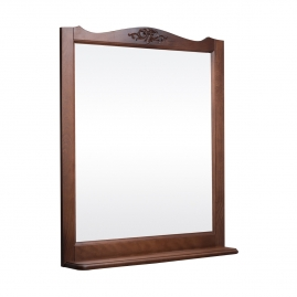 Зеркало Bas Версаль 105 орех, без подсветки