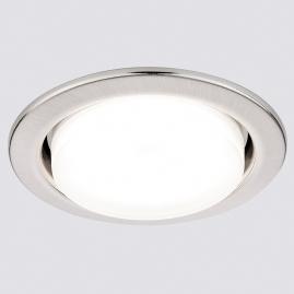 Светильник точечный Ambrella light G101 SS сатин серебро GX53