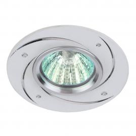 Светильник точечный Эра KL43 WH литой алюминевый MR16 12В, 220В 50Вт белый