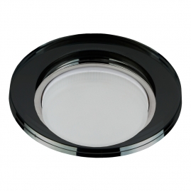 Светильник точечный Эра DK80 BK под лампу Gx53 13Вт черный