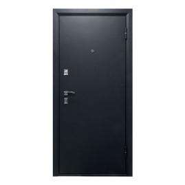 Дверь металлическая Рефлект беленый дуб 2066x980 правая
