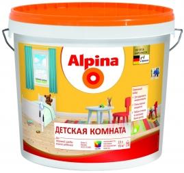 Краска акриловая Аlpinа Детская комната База 1, 2,5л