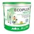 Краска Ecoplus экологичная моющая, акриловая 10л