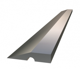 "Правило REMO 16-5-010 алюминиевая с ребром жесткости, профиль ""трапеция"" 1м"