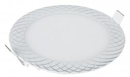 Светильник светодиодный встраиваемый Elektrostandard DLR005 12Вт 4200K WH белый