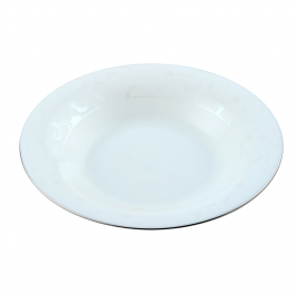 Тарелка обеденная d23см серебряный перламутр SOP01-01