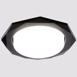 Светильник точечный Ambrella light G180 BK черный GX53