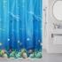 Шторка для ванной комнаты Ocean Floor 180х180см MILARDO 520V180M11