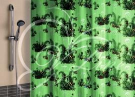 Шторка для ванной Vilina Водоросли полиэстер 1800х1800мм
