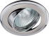 Точечный светильник Эра KL22 А поворотный, двойной контур MR16, 12В-220В, 50Вт сатин никель, хром