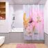 Штора для ванной комнаты Fora Белая орхидея PH54