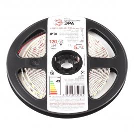 Лента светодиодная Эра LS2835 120LED 9,6Вт 5м 6500К 12В IP20 LS2835-9,6-120-12-6500K-IP20-1 year-5m