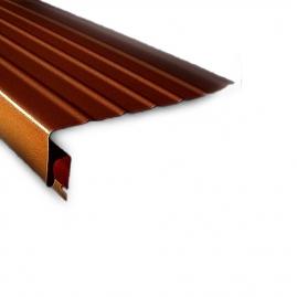 Доска карнизная Nordside 3050x1,1мм темно-коричневая