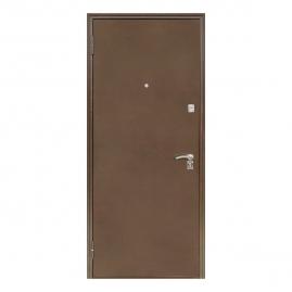 Дверь металлическая Меги 1812-0447 царговая венге 2050x870мм левая