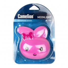Ночник Camelion NL-233 светодиодный с выключателем заяц 220В 13808