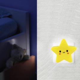 Ночник Camelion NL-240 светодиодный с выключателем звезда 220В 13815