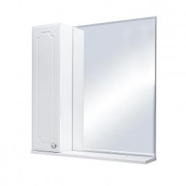 Зеркало Sanflor Ксения 70 левый, белый