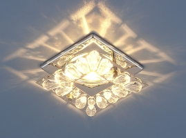 Точечный светильник 7276 MR16 хром/прозрачный