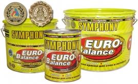Краска водоэмульсионная СИМФОНИЯ евро-баланс 7А 9л